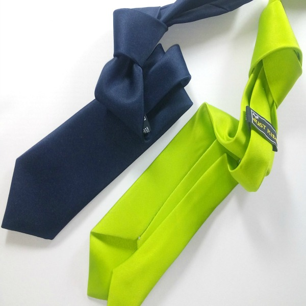 Corbata Juvenil para anudar_Liso