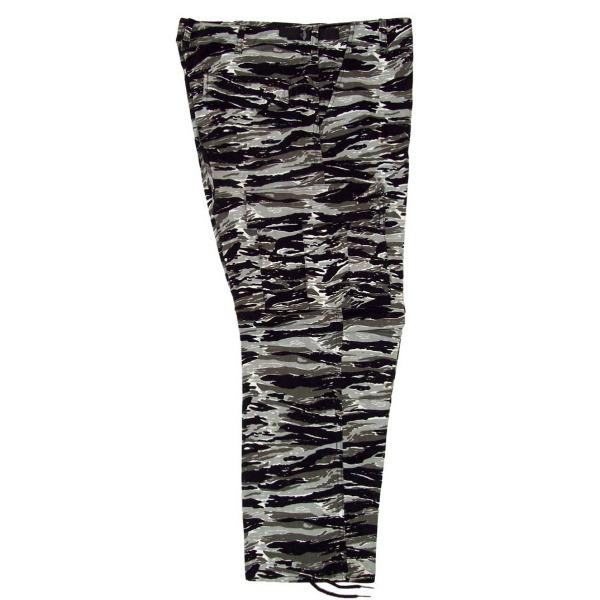Pantalón comando camuflaje _Color Tigre blanco, Tallas XS-CH-M-G-XG