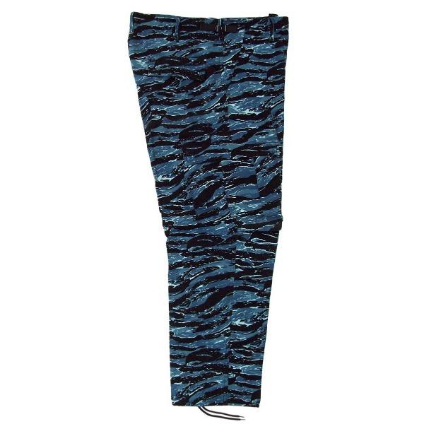 Pantalón comando camuflaje _Color Tigre azul, Tallas XS-CH-M-G-XG