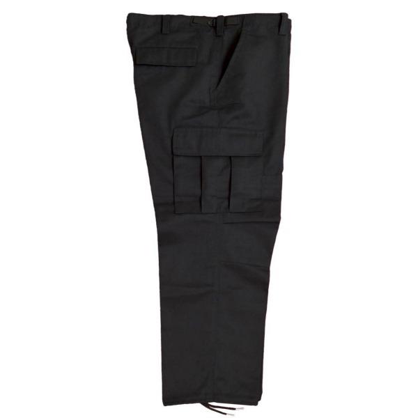 Pantalón comando gabardina uniforme_Color Negro, Tallas XS-CH-M-G-XG