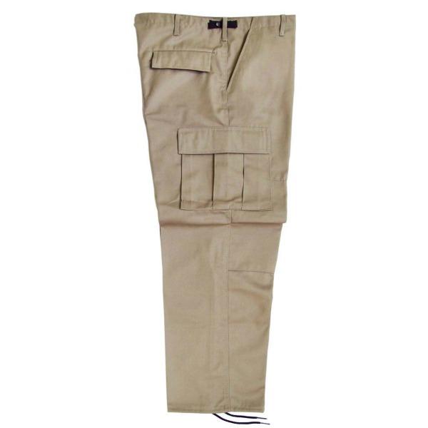 Pantalón comando gabardina uniforme_Color Caqui, Tallas XS-CH-M-G-XG