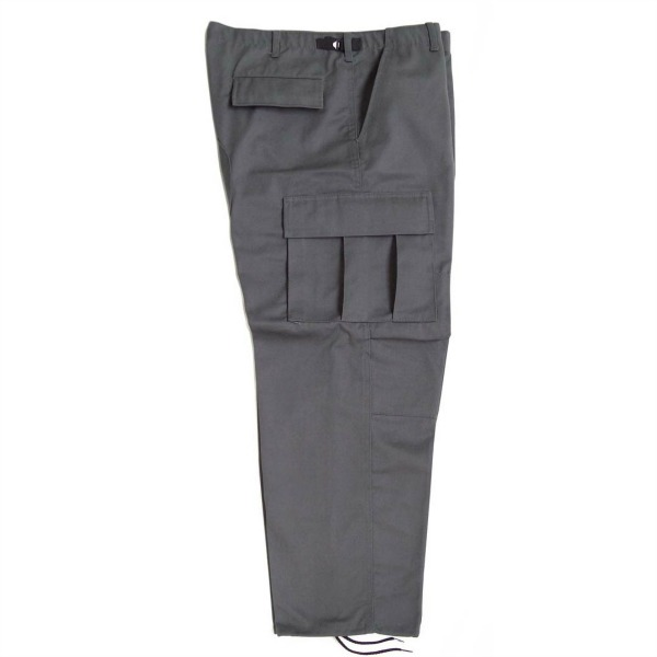 Pantalón comando gabardina uniforme_Color Gris, Tallas XS-CH-M-G-XG