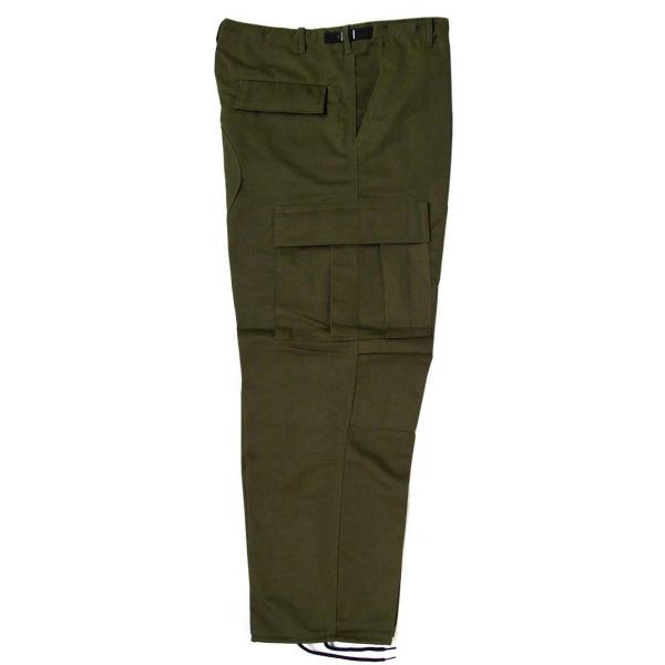 Pantalón comando gabardina uniforme_Color Verde, Tallas XS-CH-M-G-XG