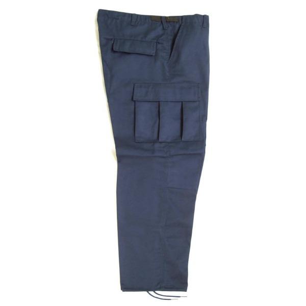 Pantalón comando gabardina uniforme_Color Cobalto, Tallas XS-CH-M-G-XG