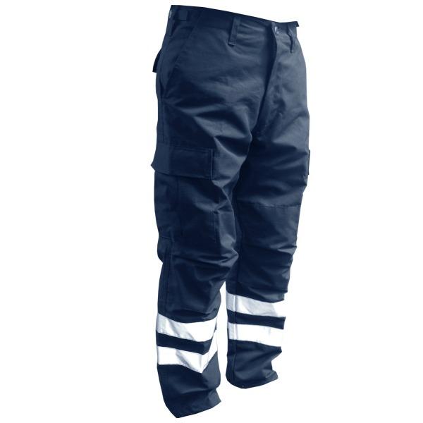 Pantalón comando Ripstop Royal con reflejantes_Color Medianoche, Tallas XS-CH-M-G-XG